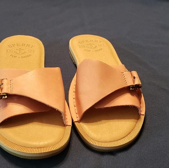 Sperrys Pink Seaport Slide Sandals
